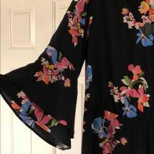 a new day Dresses - Black Floral Dress